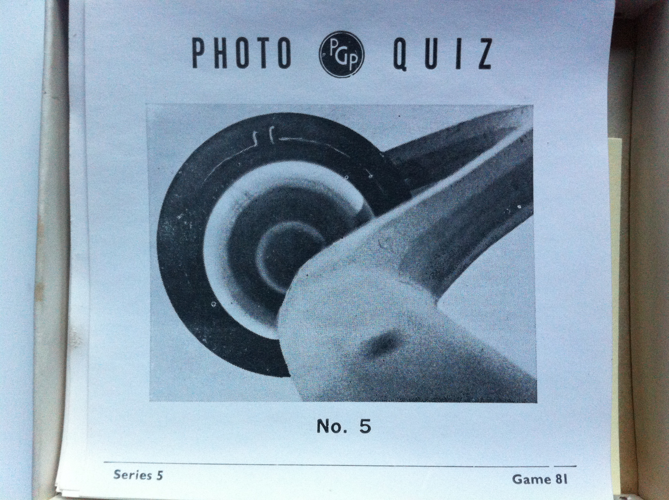 Photo Quiz No5